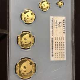 2018版中国熊猫普制套装金币