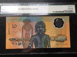 1988年澳大利亚移民200周年塑料钞10元