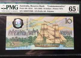 1988年澳大利亚移民200周年塑料钞