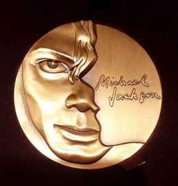 2012年迈克尔。杰克逊大铜章