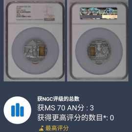 2015年纽埃镶嵌琥珀仿古银币