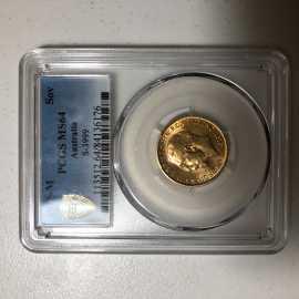 1915年7.98克澳大利亚乔治V世金币