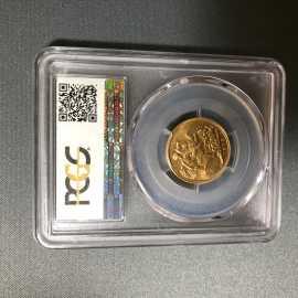 1911年澳大利亚乔治五世8克金币