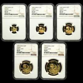 1999年熊猫金币(上海版)