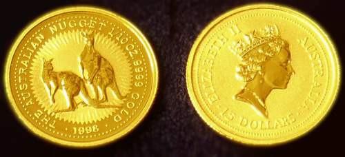 69 世界五大投资金币    澳大利亚袋鼠金币于1986年推出,正面是